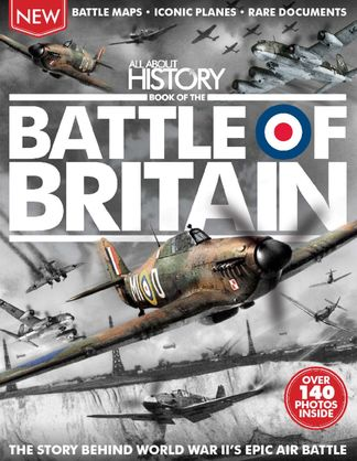 All About History Book of The Battle Of Britain digital cover