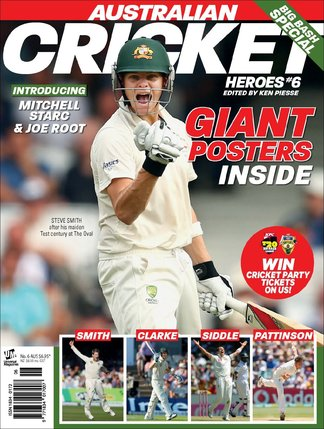 Australian Cricket Heroes digital cover