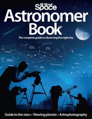 Astronomer Book digital cover