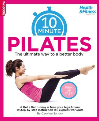 10 Minute Pilates digital cover