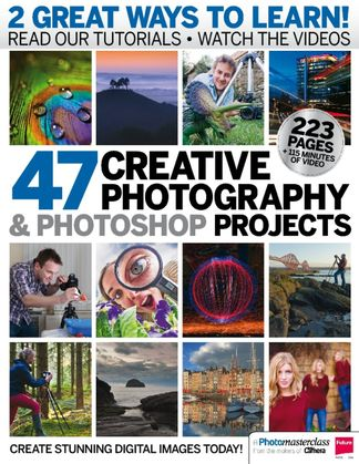 47 Creative Photography & Photoshop Projects digital cover