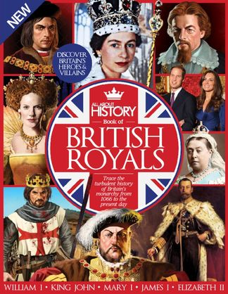 All About History Book of British Royals digital cover