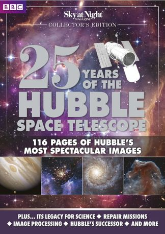 25 Years of the Hubble Space Telescope - from BBC digital cover