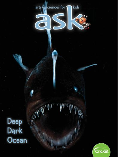 Ask Science and Arts Magazine for Kids and Childre digital cover