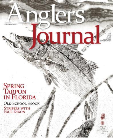 Angler's Journal digital cover