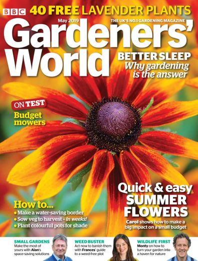 BBC Gardeners' World digital cover