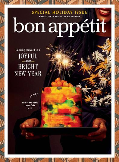 Bon Appetit digital cover