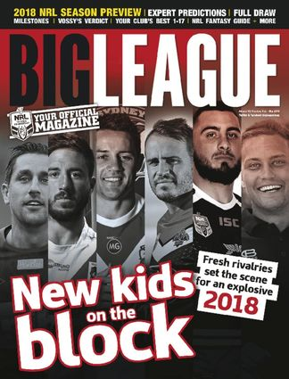 Big League: NRL Season Preview digital cover