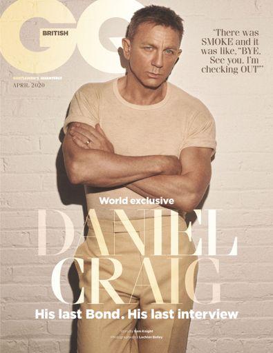 British GQ digital cover