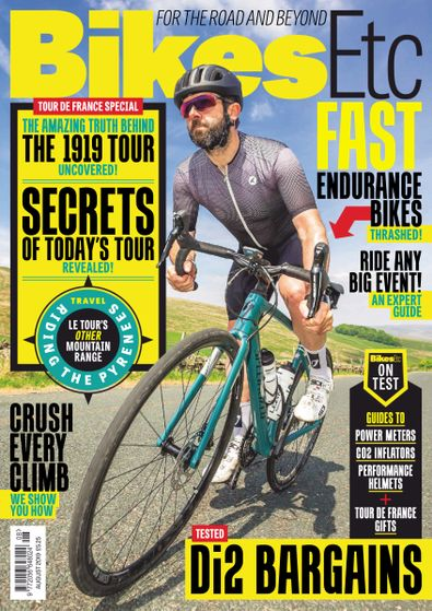 Bikes Etc Magazine digital cover