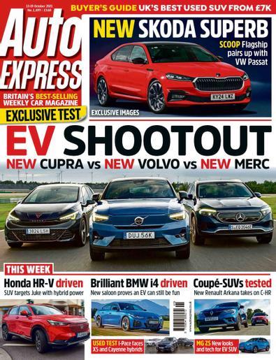 Auto Express digital cover
