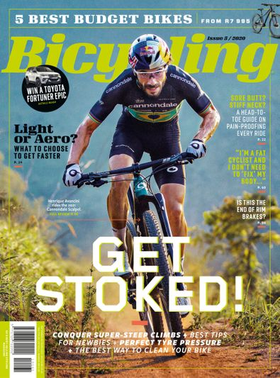 Bicycling South Africa digital cover
