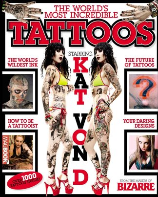 Bizarre: The World's Most Incredible Tattoos digital cover