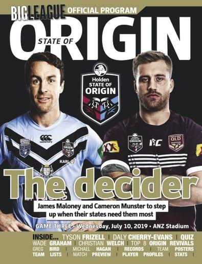 Big League: NRL State of Origin digital cover
