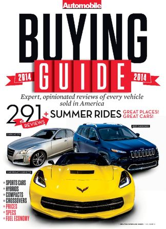 Automobile Buyers Guide digital subscription