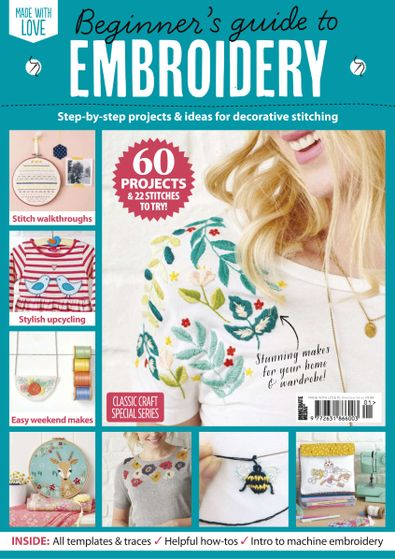 Beginner's Guide To Embroidery digital cover