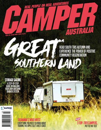 Camper Trailer Australia digital cover