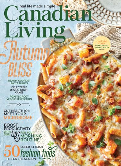 Canadian Living digital cover