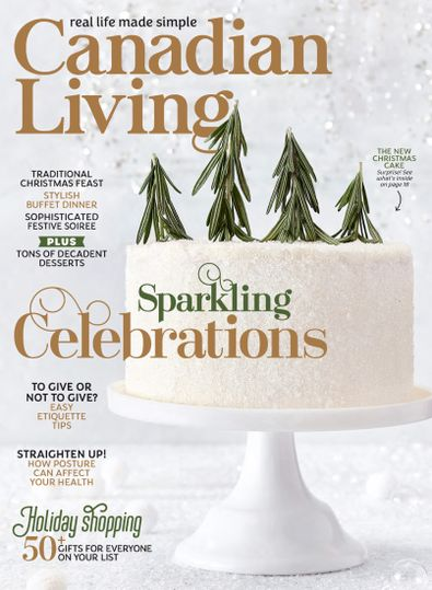 Canadian Living digital cover