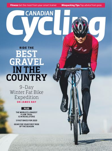 Canadian Cycling Magazine digital cover