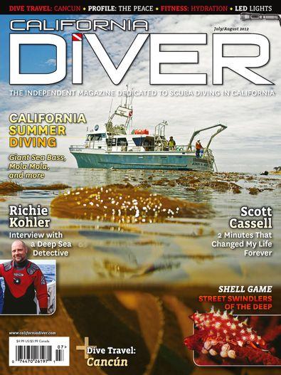 California Diver Magazine digital cover