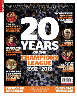 Champions of Europe: 20 years of The Champions Lea digital cover