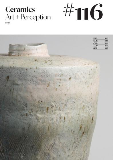 Ceramics: Art and Perception digital cover