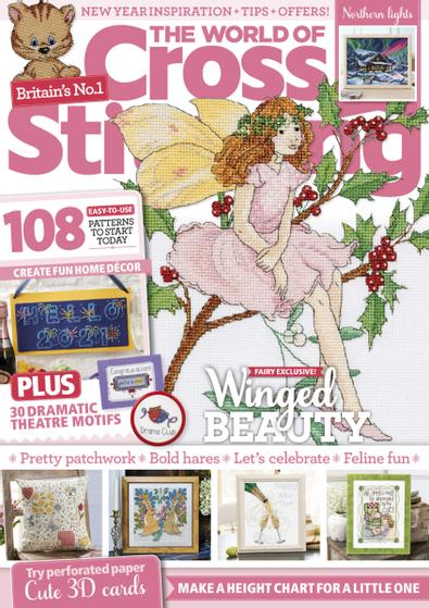 The World of Cross Stitching digital cover