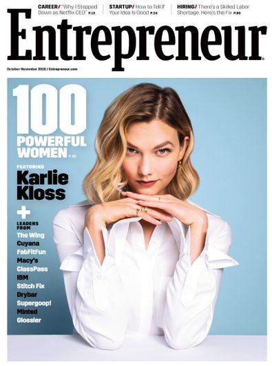Entrepreneur Magazine digital cover
