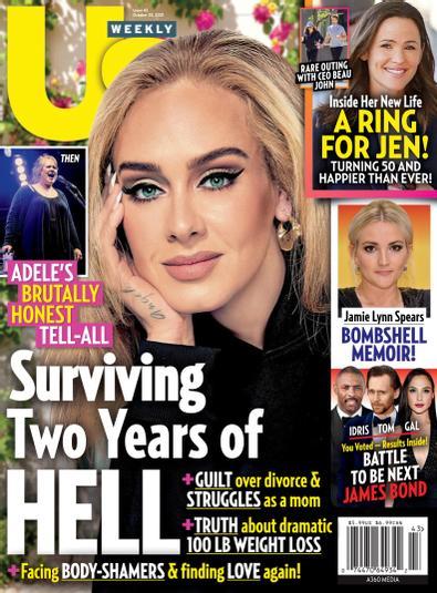 Us Weekly digital cover