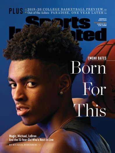 Sports Illustrated digital cover