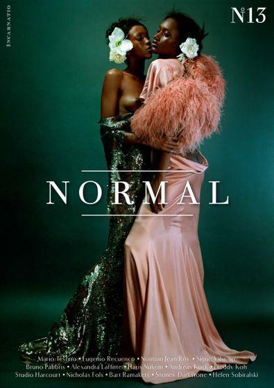 NORMAL Magazine digital cover