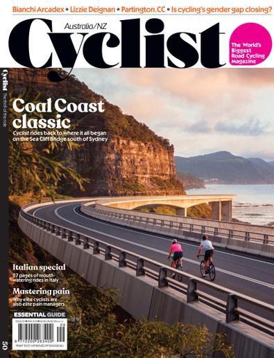 Cyclist Australia digital cover