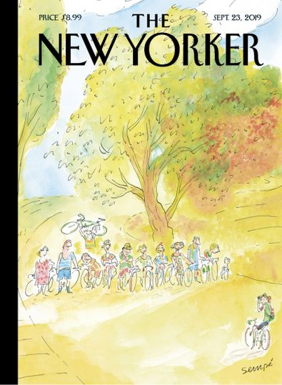 The New Yorker digital cover
