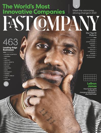Fast Company digital cover