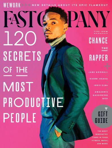 Fast Company digital cover