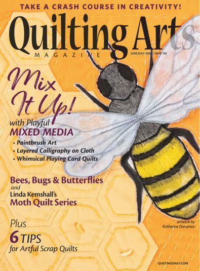 Quilting Arts Magazine digital cover