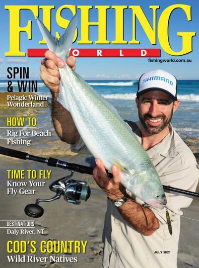 Fishing World digital cover