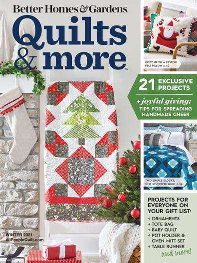 Quilts and More digital cover