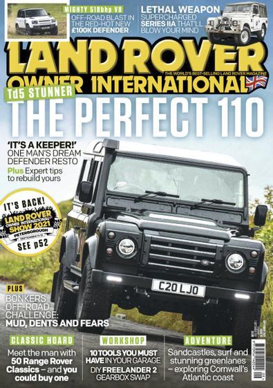 Land Rover Owner digital cover