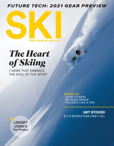 Ski Magazine digital cover