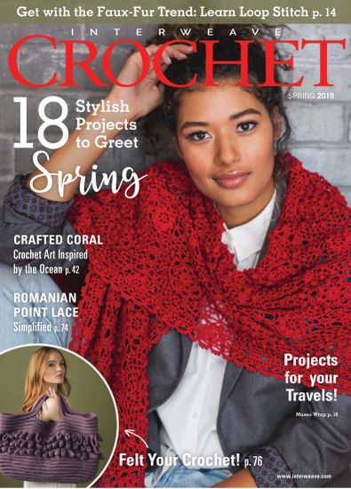 Interweave Crochet digital cover