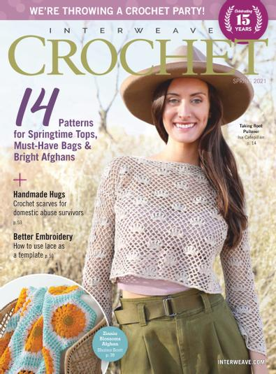 Interweave Crochet digital cover