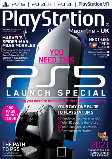 Official PlayStation Magazine - UK Edition digital cover