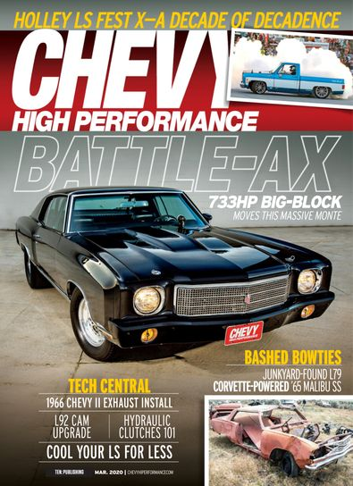 Chevy High Performance digital cover