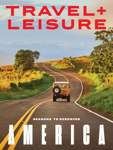 Travel+Leisure digital cover