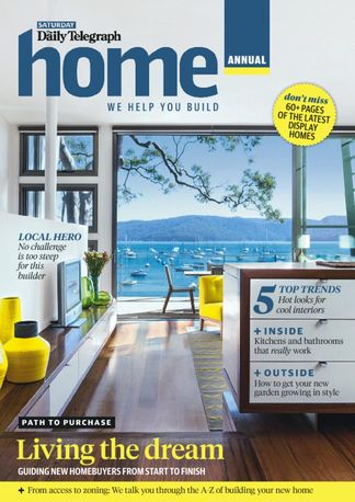 Home Magazine Build Annual digital cover