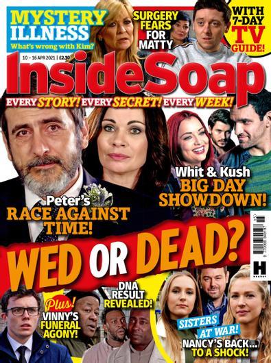 Inside Soap UK digital cover