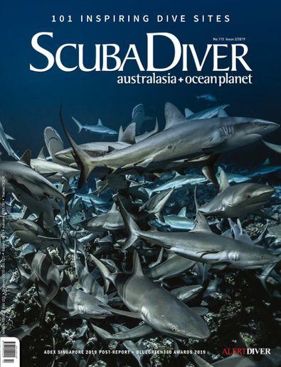Scuba Diver digital cover