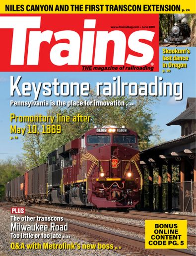 Trains digital cover